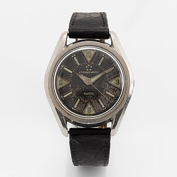 Eterna-Matic, Kontiki (Swiss),  wristwatch, 37 mm.