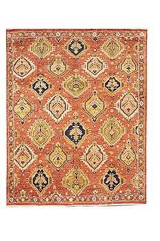 A carpet, Mamluk design, ca 304 x 239 cm.