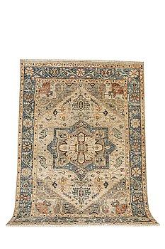 A carpet, Mamluk design, ca 362 x 270 cm.