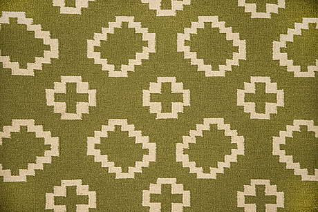 A rug, flat weave, ca 240 x 160 cm.