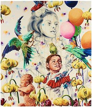 """267. Linn Fernström, """"Balloon Girl""""."""