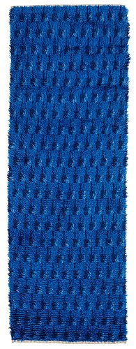 Nordic design, a runner, knotted pile, ca 240 x 81 cm, sweden, 1950's-1960's.