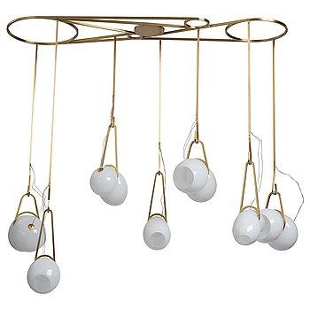 "100. Lindsey Adelman, a ""Catch CS.07.01."" ceiling lamp, Studio Lindsey Adelman, Los Angeles, USA, 2016."