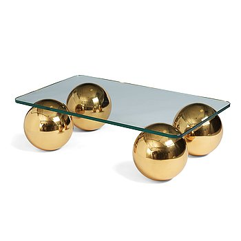 75. Angelo Donghia, probably, a coffee table, for Donghia Rubelli group, Italy 21st Century.