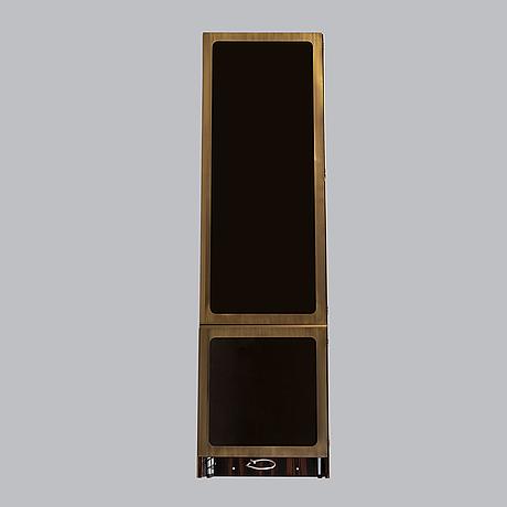 A billiards cue brass cabinet. bespoke, los angeles, 21st century.