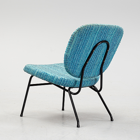 A lounge chair, mid 20th century.