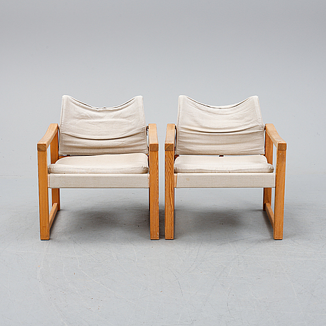 Karin mobring, a pair of 'diana' armchairs for ikea.