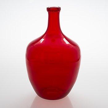 Flaska, Riihimäki glasbruk, 1900-talets senare hälft.