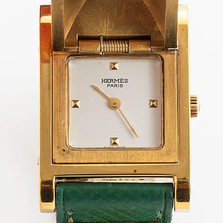 Hermès, medor, wristwatch, 23 mm.