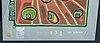 Friedenreich hundertwasser färgserigrafi med metallprägling, numrerad 1649/3000.