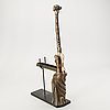 Salvador dali skulptur  signerad och numrerad 1139/1500 patinerad brons.