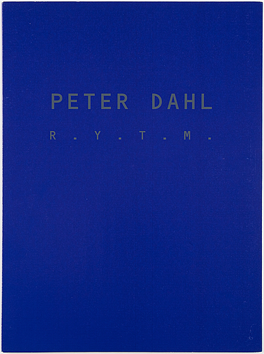 Peter dahl, portfolio with 4 lithographs in cololur, signed and numbered 204/375.