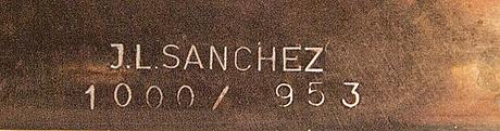 José luis sanchez, brons, signerad och numrerad 1000/953.