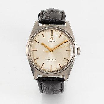 Omega, Genève, armbandsur, 34 mm.