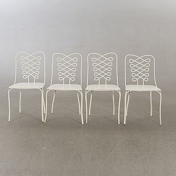 David Helldén, a set of four chairs from 1944.