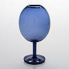 Nanny still, a 'balloon' art glass for riihimäen lasi oy.
