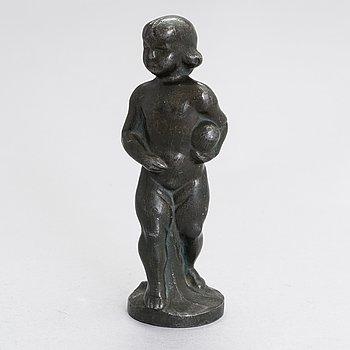 Hjalmar Stenholm, bronze sculpture, signed.