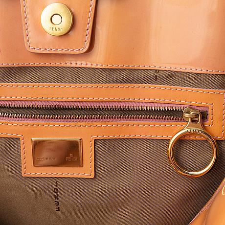 Fendi, patent leather bag.