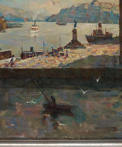 Ingeborg åkerman, oil on canvas, signed.