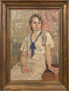Gerhard Karlmark, olja på duk signerad och daterad 1935.