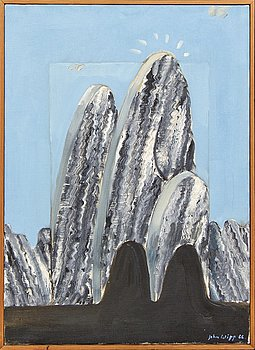 Johan Wipp, oil on canvas, signed, dated -66.