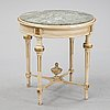 A gustavian style table from nk, early 20th century.
