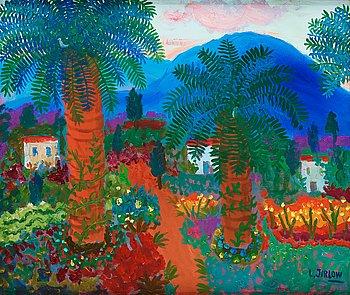 736. Lennart Jirlow, Landscape, Provence.