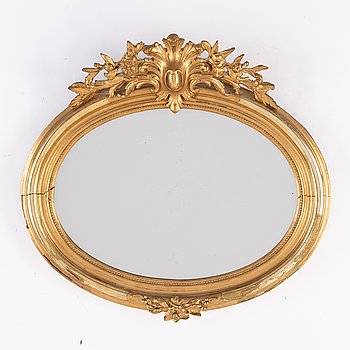 A late 19th century mirror.