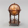 A globe bar, zoffoli, italy, second half of the 20th century.
