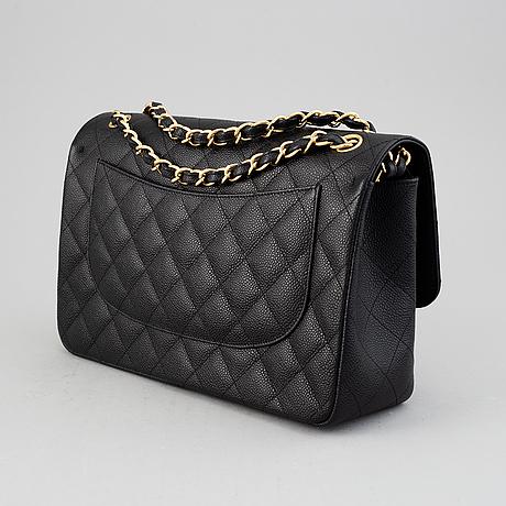 Chanel, 'double flap bag jumbo', 2012-2013.