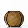 """Wilhelm kåge, a """"farsta"""" stoneware vase, gustavsberg studio probably 1950's."""