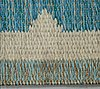 A carpet, a machine-made double weave, ca 224 x 165 cm, signed js.