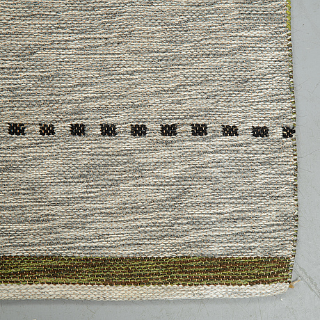 A carpet, a machine-made double weave, ca 230,5 x 148,5 cm, sweden.