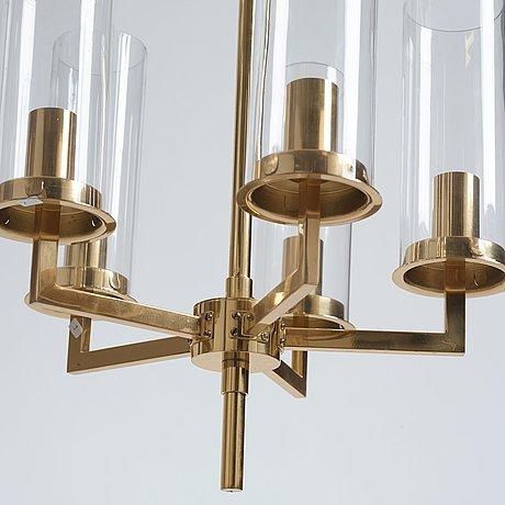 "Hans-agne jakobsson, a pair of ""sonata"" ceiling lamps, hans agne jakobsson ab, markaryd, sweden, 1960-1970's."