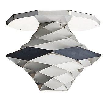 "66. Preben Dal, a ""Symphony"" ceiling or table lamp, for Hans Følsgaard, Elektro HF Belysning, Denmark 1960's."
