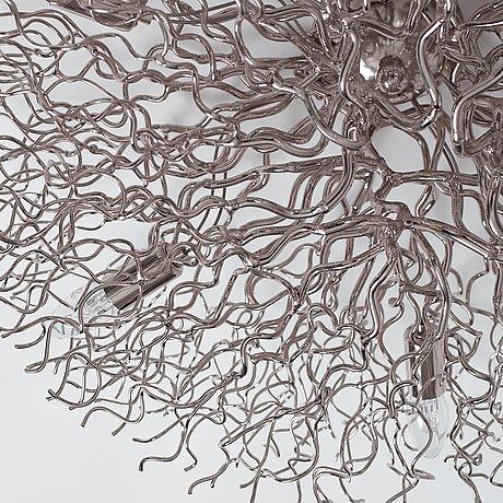 "Wiliam brand & anette van egmond, a ""hollywood"" ceiling lamp, brand van egmond, the netherlands 21st century."