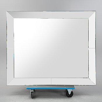 A contemporary mirror unknown designer.