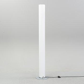 "Achille Castiglioni. A cylindrical, plastic, floor lamp, ""stylos"", Flos. Contemporary."