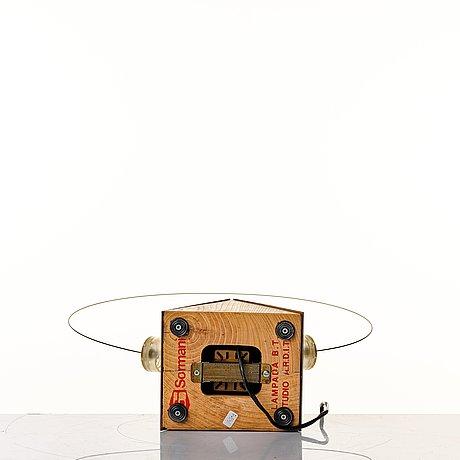 "Studio a.r.d.i.t.i., a ""b.t. lamp"", sormani spa, italy ca 1971."