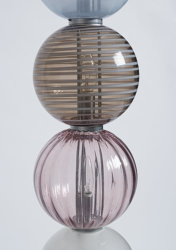 "Philip baldwin and monica guggisberg, ""abaco"", lamp, venini, italy 1999."