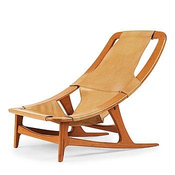"405. Arne Tideman Ruud, a ""Holmenkollen/""3030"", lounge chair, AS Inventar/ Norcraft, Gjövik Norway 1950-60's."