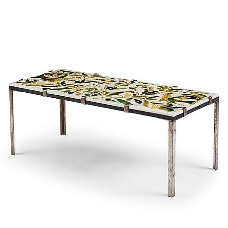 Kinga shabo, a table, arabia finland 1970's.