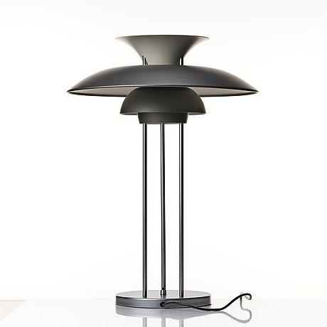 "Poul henningsen, a pair of table lamps, ""ph-5"", louis poulsen, denmark."
