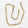 18k gold necklace/bracelet.