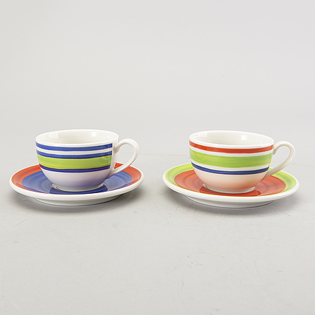 "Designers guild dinner service 27 dlr rosenthal ""casuals"" orchard collection, porcelain."