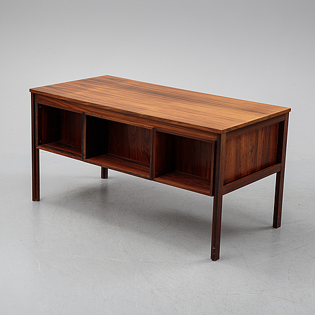 A 1960's rosewood desk.