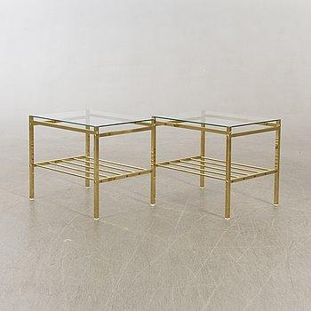 Sidobord/sängbord ett par 1970-tal.