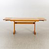 Table, 30-40s, art-deco, 2 extension leaves.
