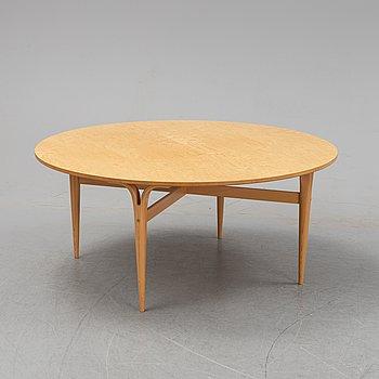 Bruno Mathsson, a birch coffee table, Bruno Mathsson International, 2018.