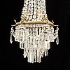 A chandelier, early 20th century.